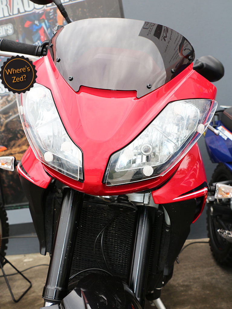 Triumph Tiger 1050 Sport Se Motorcycle Headlight Protector